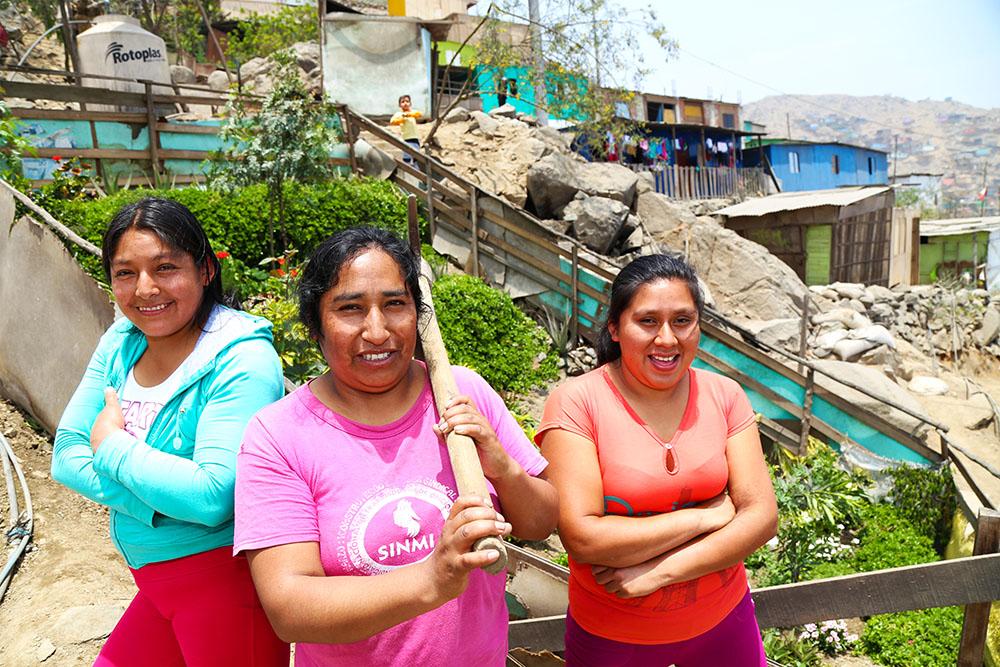 Lima – Un biohuerto para mejorar su barrio