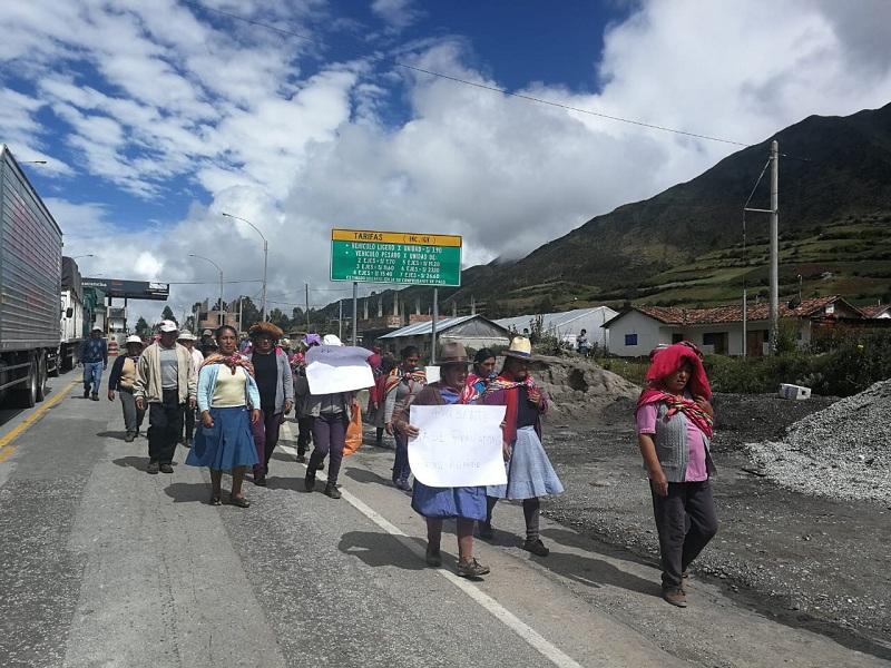 Gobierno asignó 8 soles por hectárea a agricultores afectados por fenómenos climáticos en Cusco