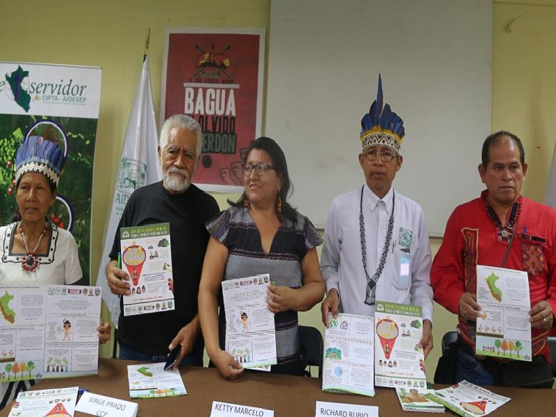 Los pueblos indígenas presentaron su agenda Climática