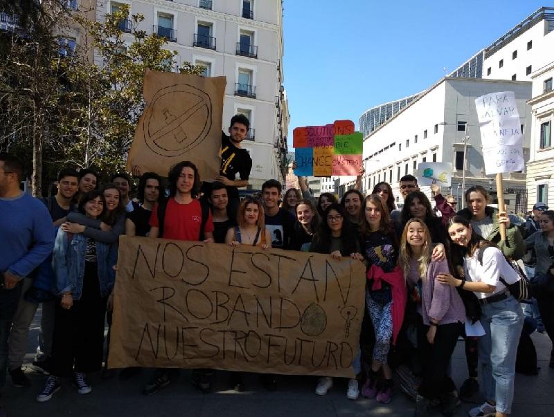 Movilización estudiantil por el clima este viernes en Lima