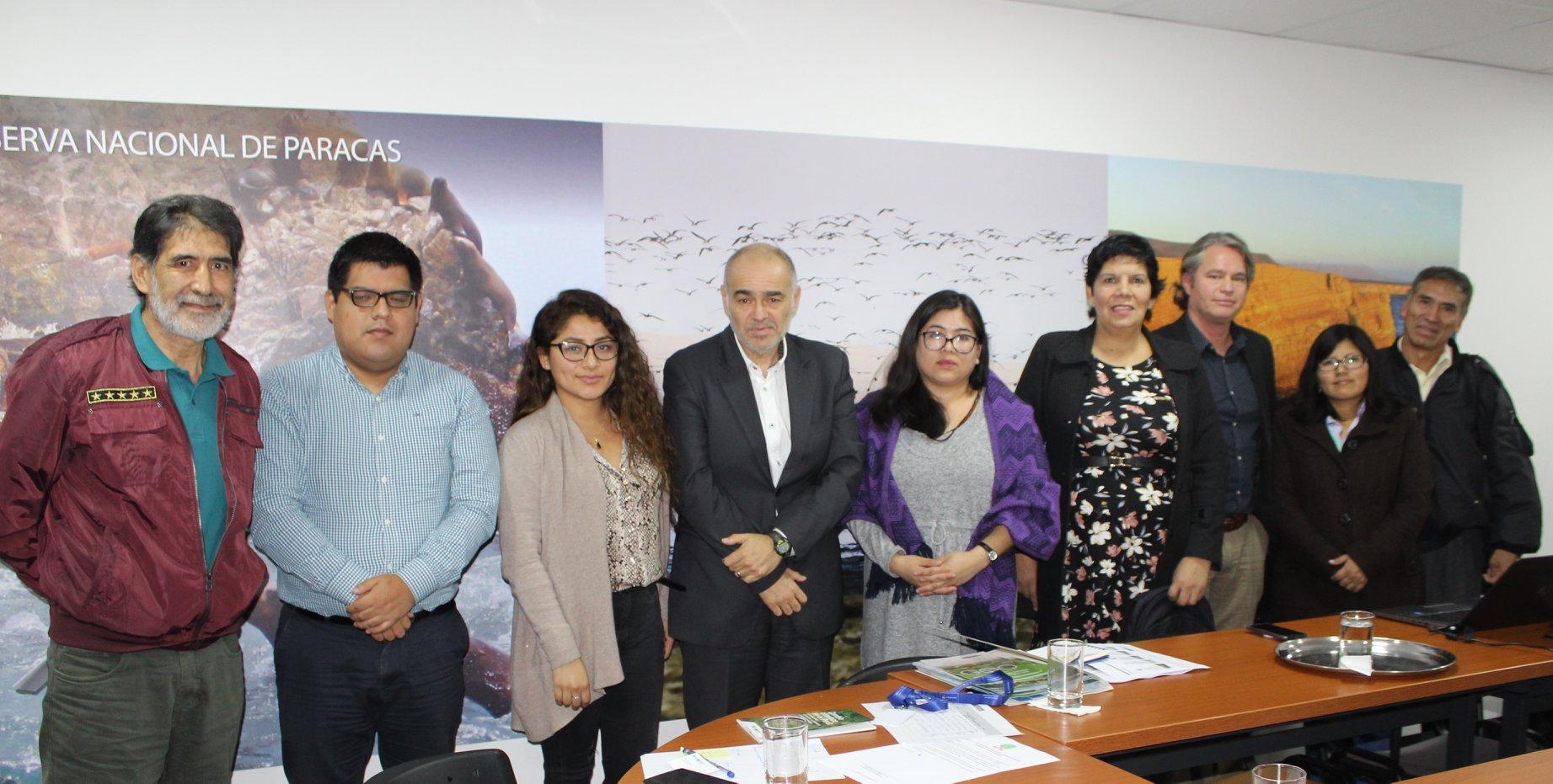 Grupo Perú ambiente y Clima se reúne con viceministro del Ambiente con miras a las COP25