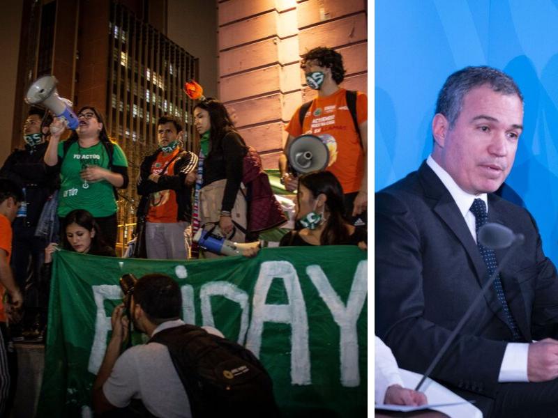 Jóvenes demandan acciones para frenar la crisis climática y el Premier no responde