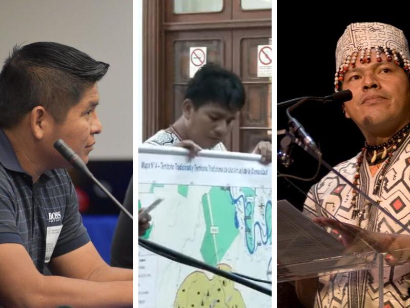 Amazonía en tribunales: Pueblos indígenas defienden sus derechos ante TC y en audiencias de CIDH