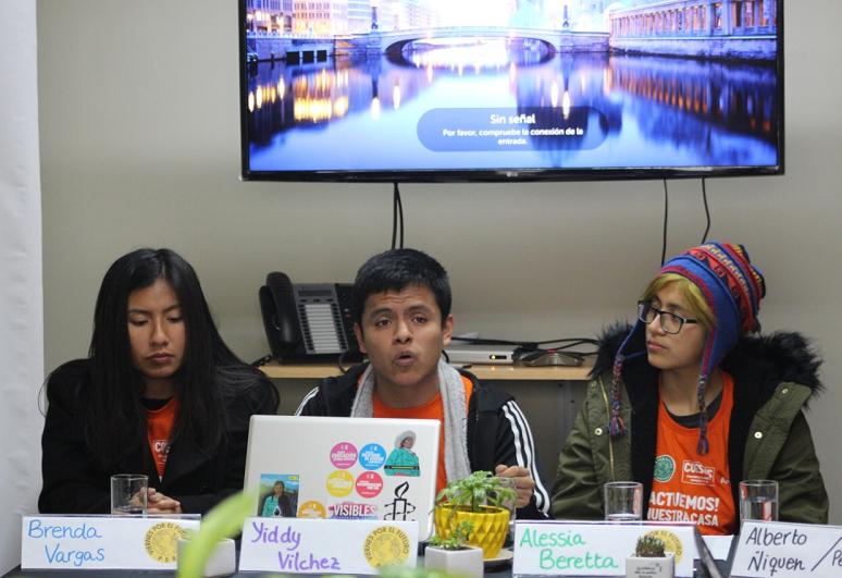 «Queremos una revolución ambiental», enfatiza Movimiento Viernes por el futuro Perú