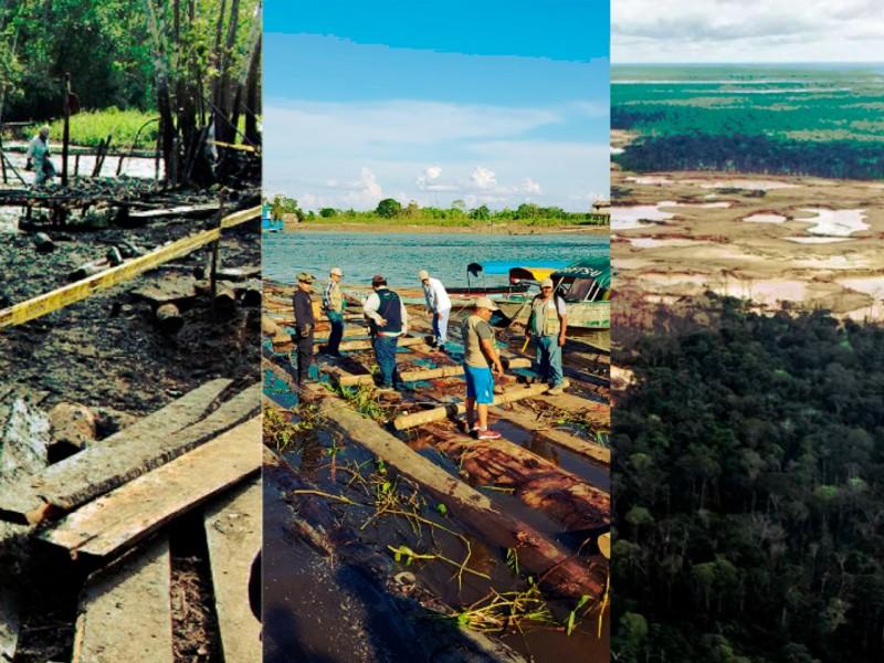 Conoce la línea de tiempo de las fiebres de oro en la Amazonía peruana (INTERACTIVO)