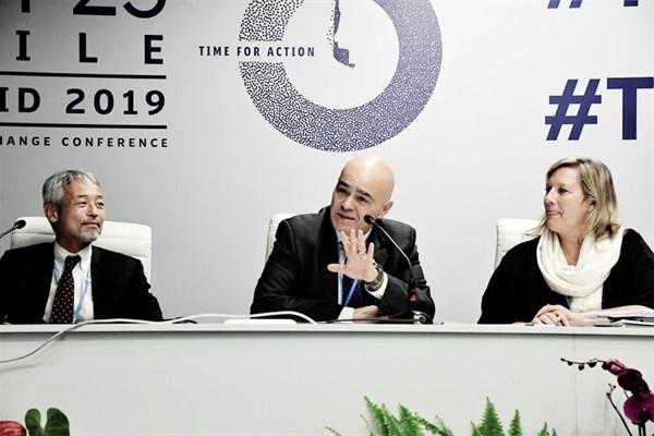 COP25 Quijandria: «Es necesario que los otros Ministerios incorporen la mirada de cambio climático»