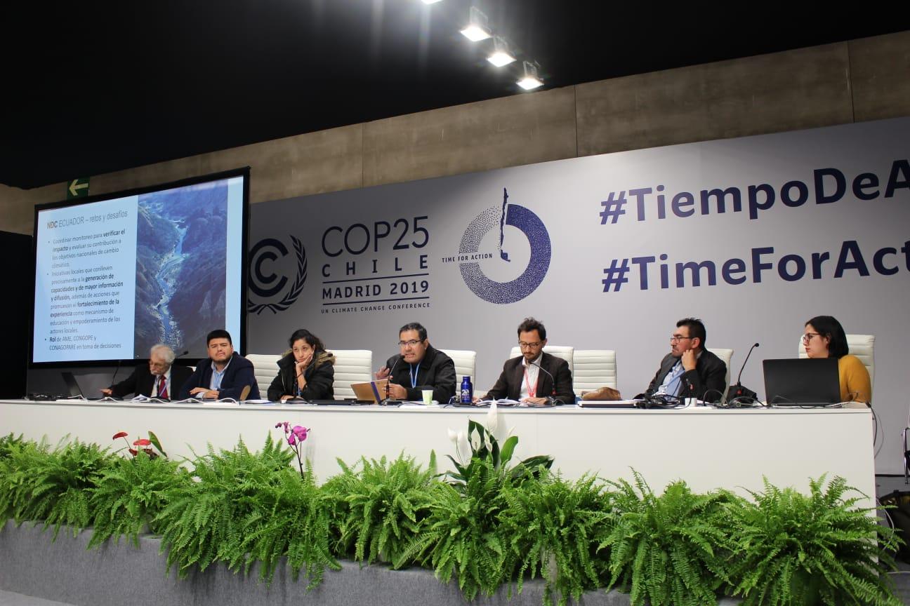 COP25: Países sudamericanos no están cumpliendo compromisos climáticos