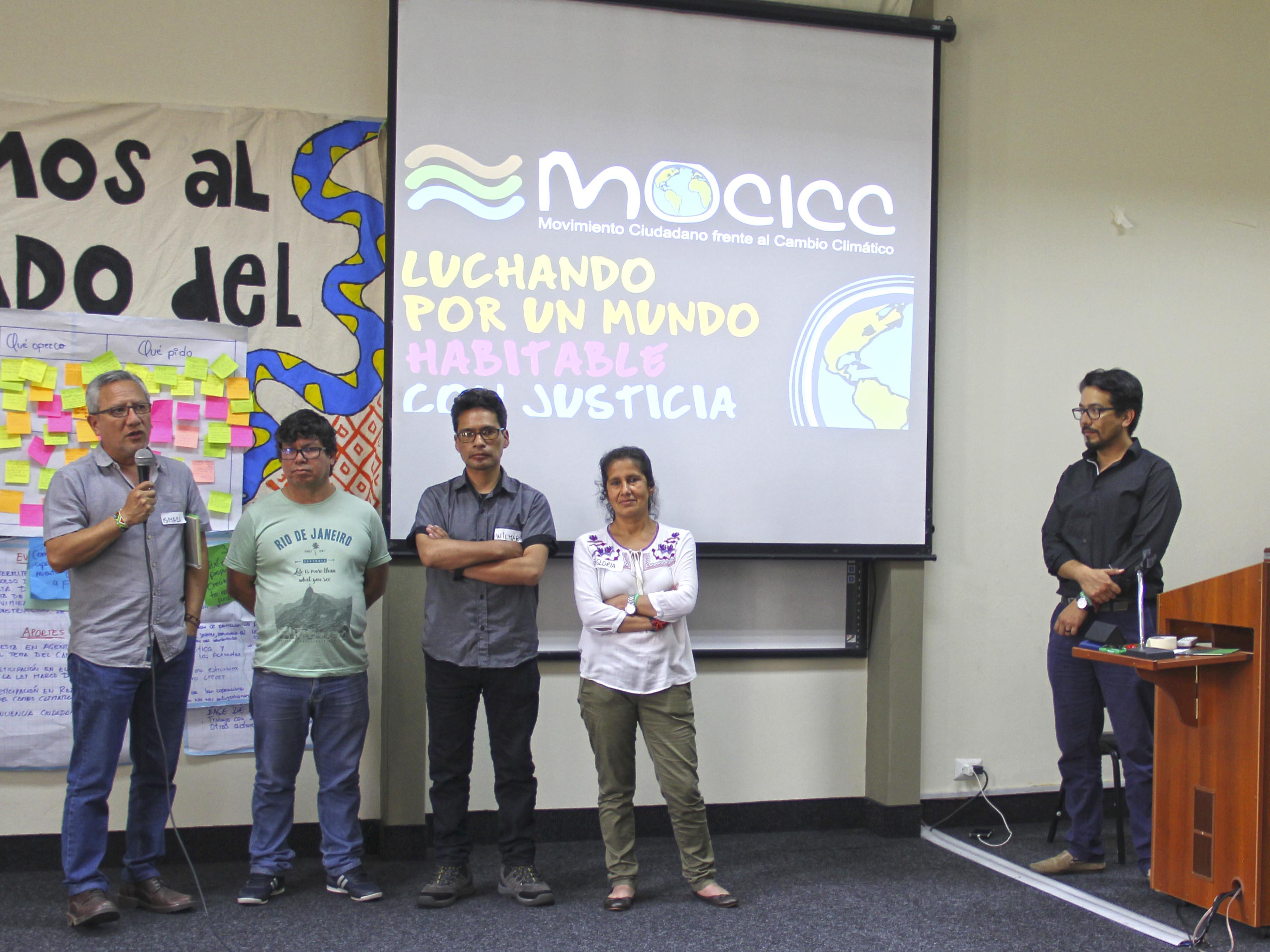 Asamblea MOCICC eligió comité Nacional de coordinación