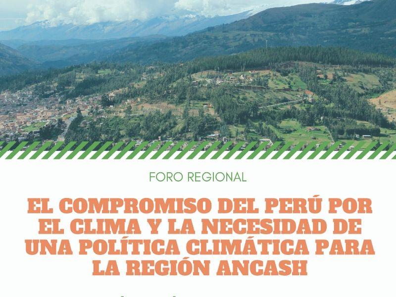 MOCICC realizará el Foro Regional para una política climática en Ancash