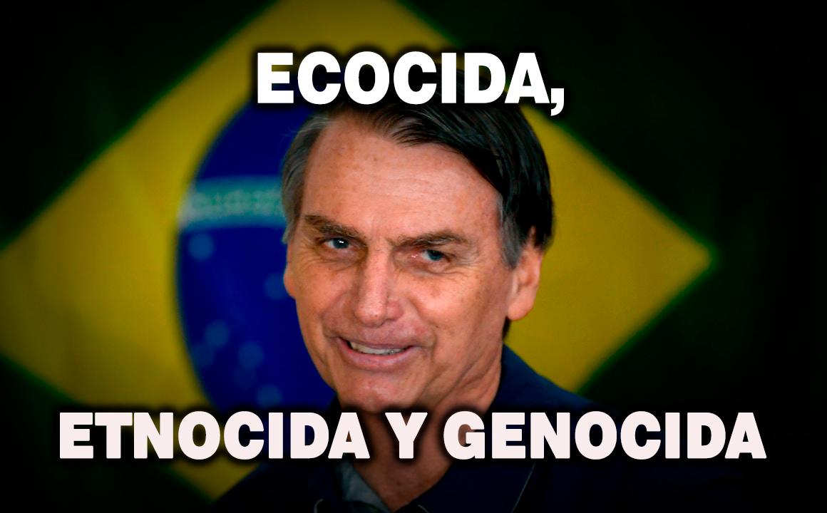 Bolsonaro arremete contra tierras indígenas en Amazonía brasileña