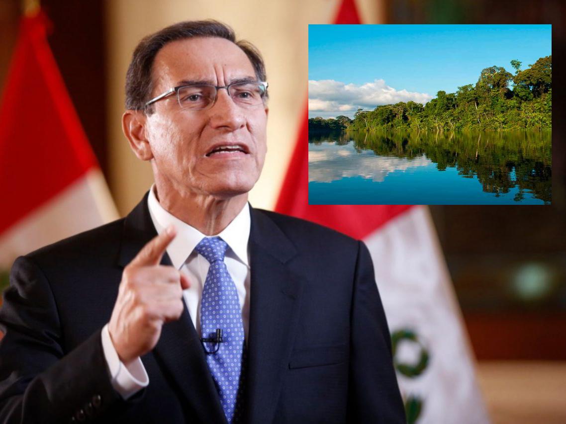 Coronavirus: Presidente Vizcarra reconoce que la humanidad debe ser responsable con la naturaleza