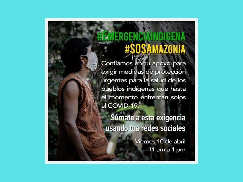 Frente al COVID19 URGEN MEDIDAS CONCRETAS PARA LA AMAZONÍA