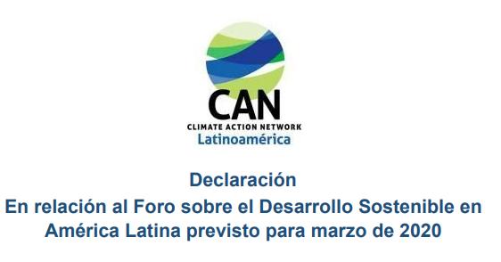 Declaración: CAN Latinoamérica
