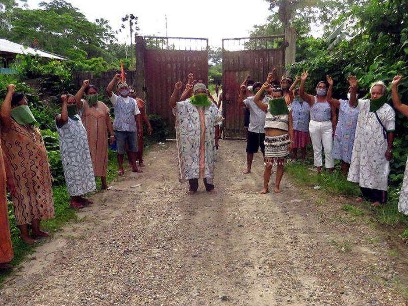 «¿Cuántos pobladores indígenas están contagiados con COVID-19?»