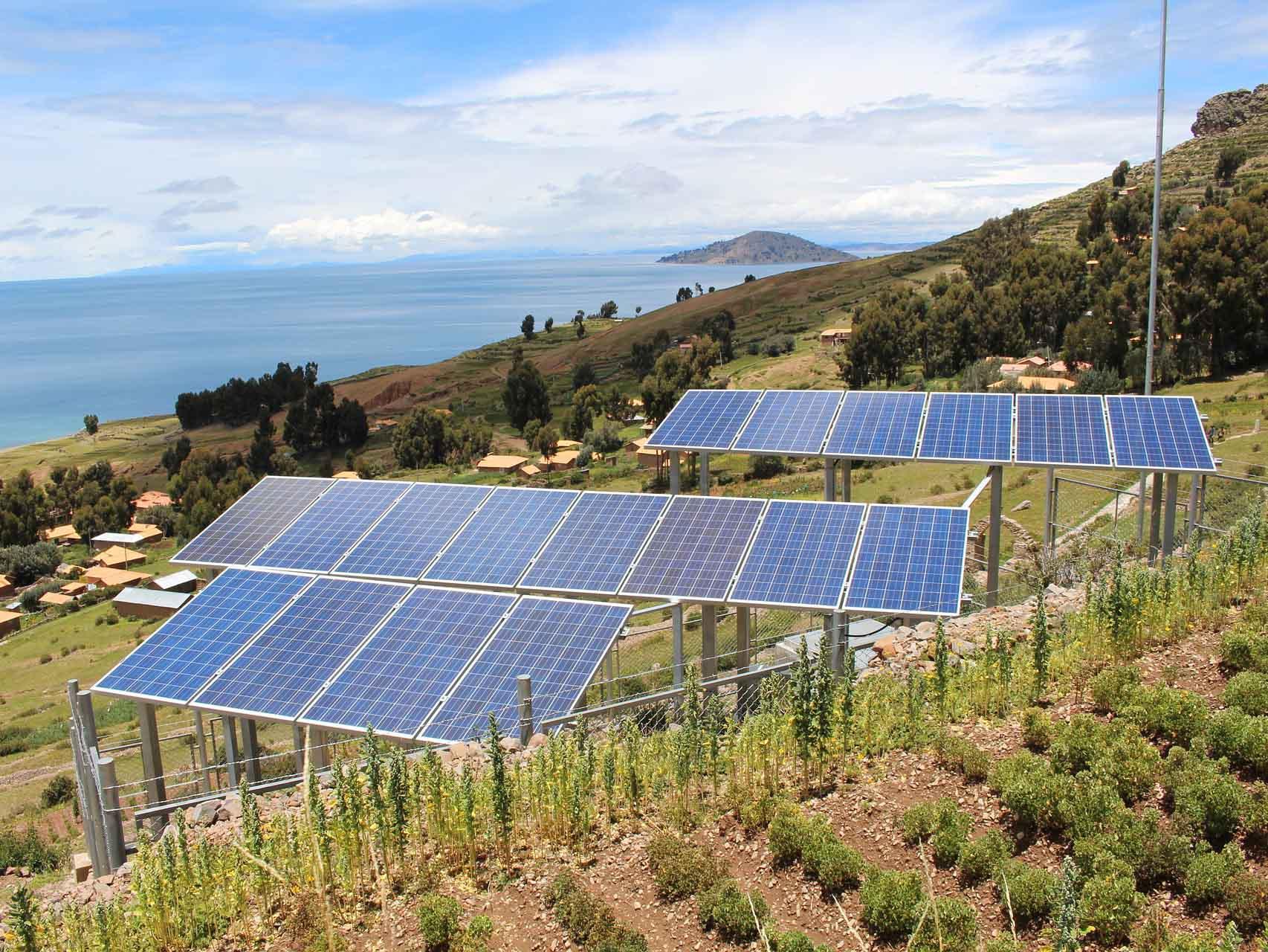 Potencial energético del Perú