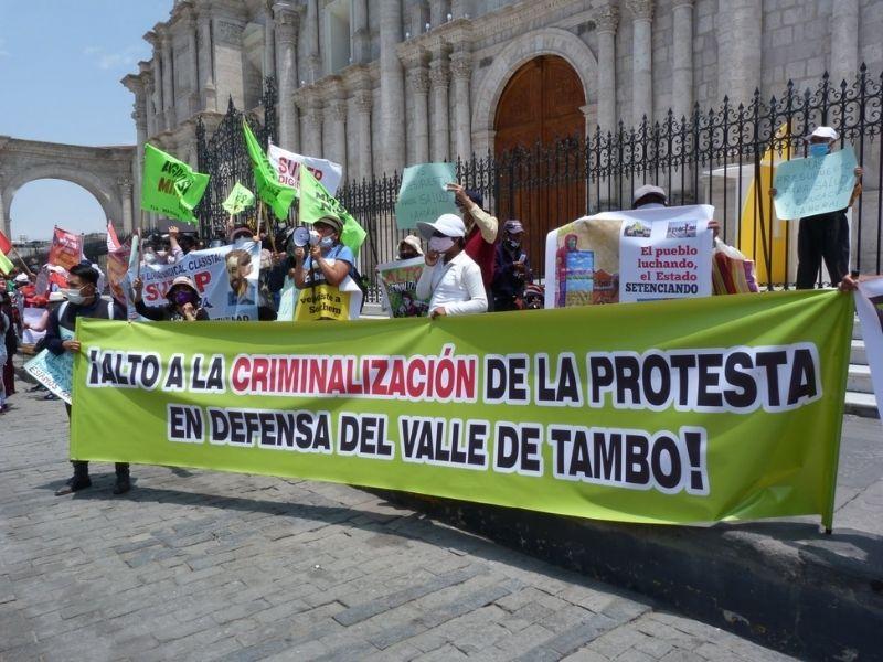 Por una lucha ambiental y territorial sin persecución ni criminalización