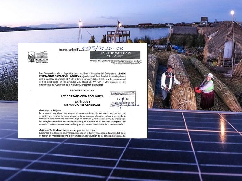 """5 razones para aprobar la """"Ley de Transición Ecológica"""""""