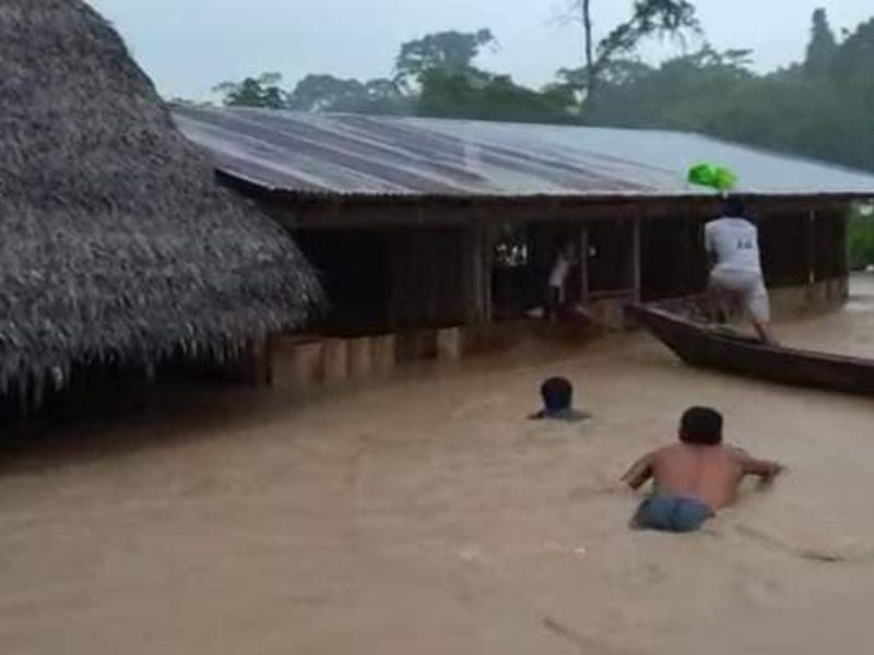 ALERTA: Comunidades amazónicas en emergencia por desborde de ríos