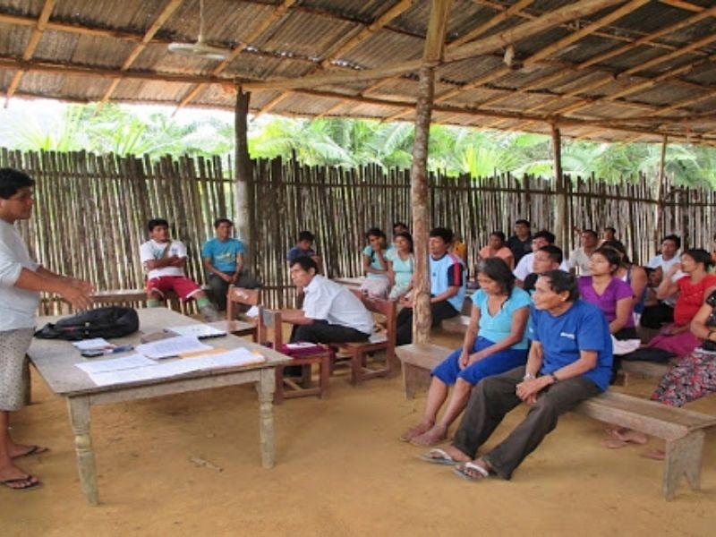 Awajún exigen acciones al gobierno en el distrito de El Cenepa