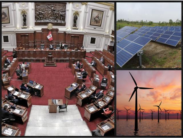 Congreso debatirá importante proyecto de ley para promover la transición ecológica en el Perú