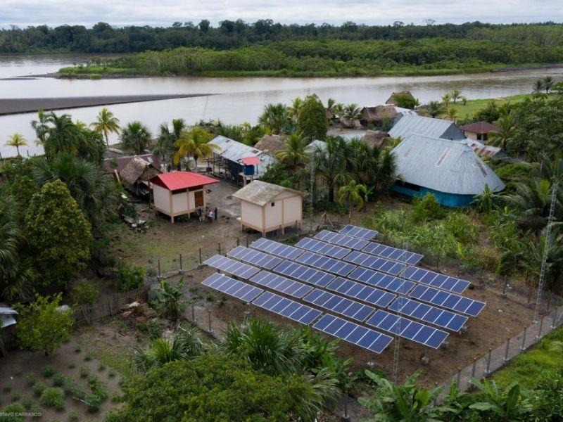 Organizaciones presentan aportes para la transición energética al MINAM